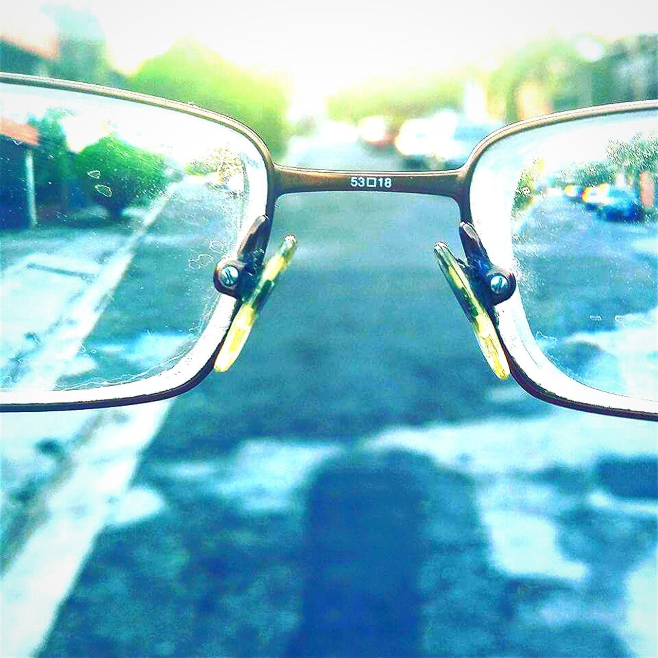 reflection, side-view mirror, no people, transportation, day, road, close-up, outdoors, sky, tree