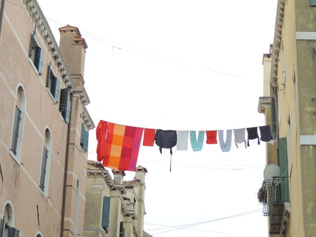 Architecture Building Exterior Built Structure Clear Sky Clothesline Day Flag Hanging Low Angle View No People Outdoors Patriotism Sky Veneto Venezia Venezia #venice Venezia Italia Venezia Italy Venezia Venice Venezia.italia Venezia_city Veneziaaunica Veneziadavivere Veneziagram Veneziaunica