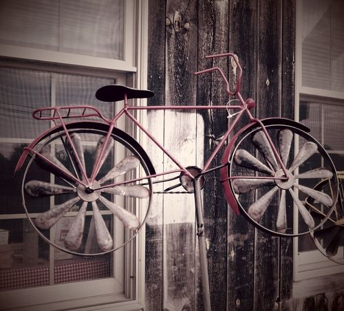 Celebrate Your Ride Burlington Vermont Showcase March Vintage Red Bicycle windmills photography The Double OO Mission EyeEm Gallery Textures And Surfaces The Still Life Photographer - 2018 EyeEm Awards