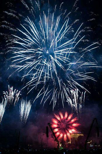 Fireworks // Turin Pentax Italy Turin Fromsummer