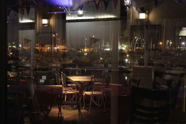 Cape Royal Yacht Club Cape Town Chairs Clubhouse Food And Drink Industry Glowing Harbour Harbour View Night View Restaurant Royal Cape Yacht Club Tables And Chairs Yachts