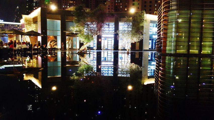 Dubai Streetphotography The Walk Dubai Places Reflections Nightlife