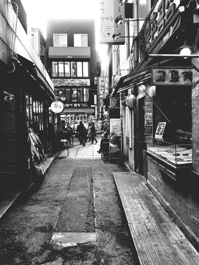 Insadong Korea Streetphotography Blackandwhite Monochrome Traveling Xperiaz2
