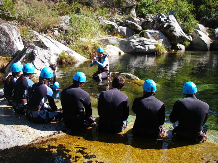 Rio Teixeira Portugal Modern Workplace Culture School Classe Shcool Lesson Work Meeting Canyoning Day Lifestyles Nature River Teacher Water