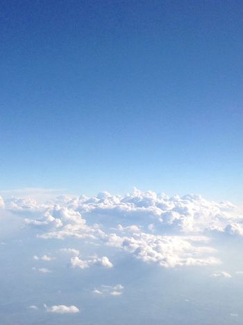 Blue Sky Nature Tranquility Heaven Cloud - Sky Beauty In Nature Scenics No People Backgrounds Day Outdoors Altitude Open Peace Airplane Textured  Space EyeEmNewHere Blue Sky