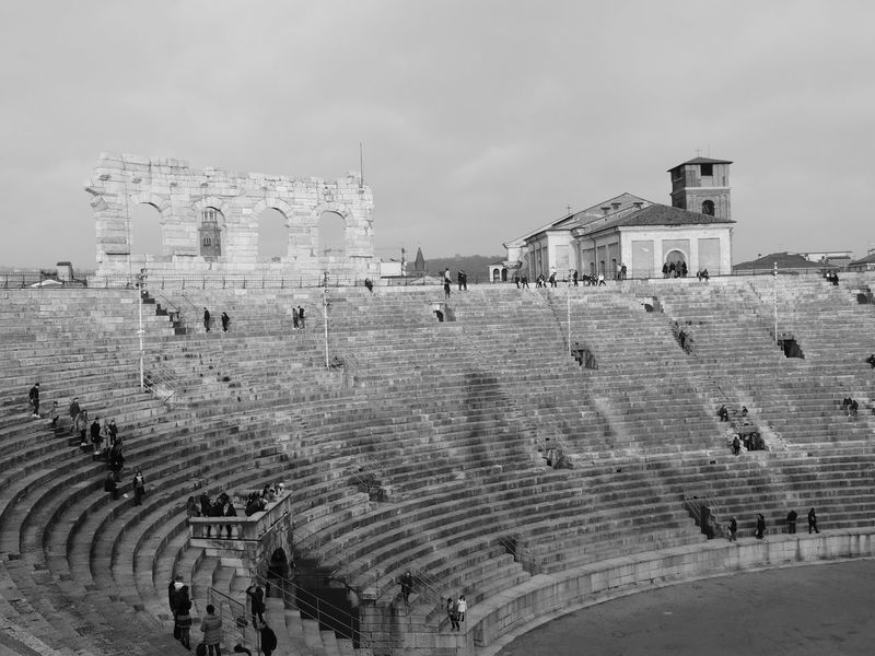Adult Adults Only Architecture Arena Arena Di Verona Arena Di Verona, Italy Arena Di Verona, Italy Igersverona Verona Italy Arena Monuments Arenadiverona Black & White Black And White Black And White Photography Black&white Blackandwhite Blackandwhite Photography Blackandwhitephotography Built Structure Crowd Day History Large Group Of People Lifestyles Outdoors People Sky Women