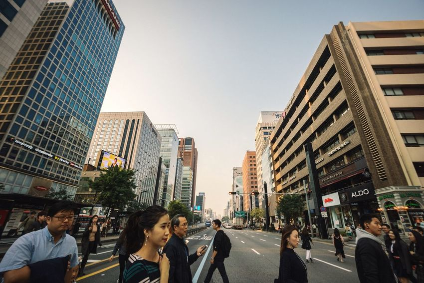 Gangnam street crossing City Large Group Of People Built Structure Street City Life Road Walking Tall - High Crossing Office Building Modern Urban Skyline Outdoors City Life City Street Gangnam Gangnam Style Seoul Korea Downtown Busy Street Crosswalk Crossing The Street Cityscapes Urban Landscape