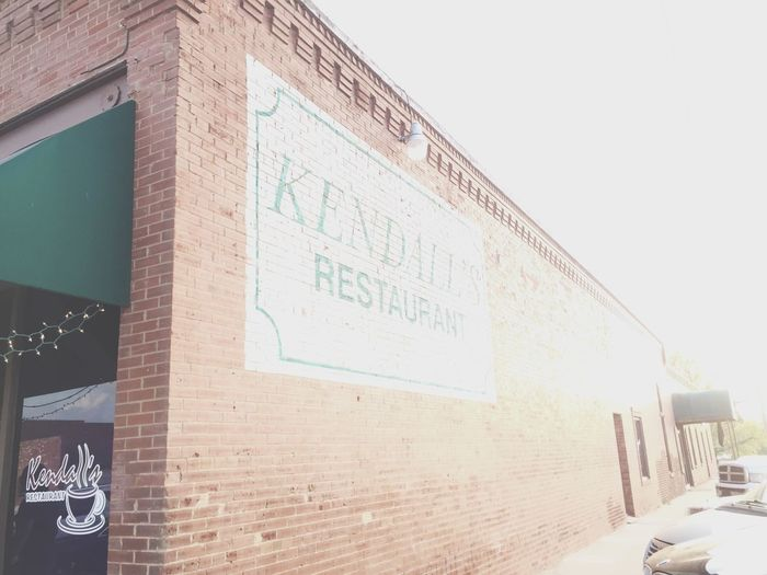 this is my favorite restaurant Kendall's Noble Hello World