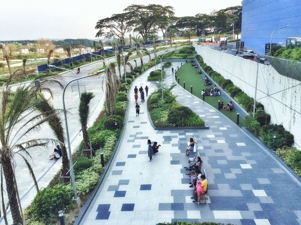 View deck High Angle View Leisure Activity Real People EyeEmNewHere Outdoors