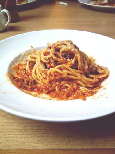 Spaghetti Bolognese:3 Meal Time EyeEm Best Edits Taking Photos Enjoying A Meal Followforlikes Likeforlike