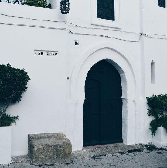 Monochrome Zero Tanger  Morocco Islamic Architecture Arches Architecture Door