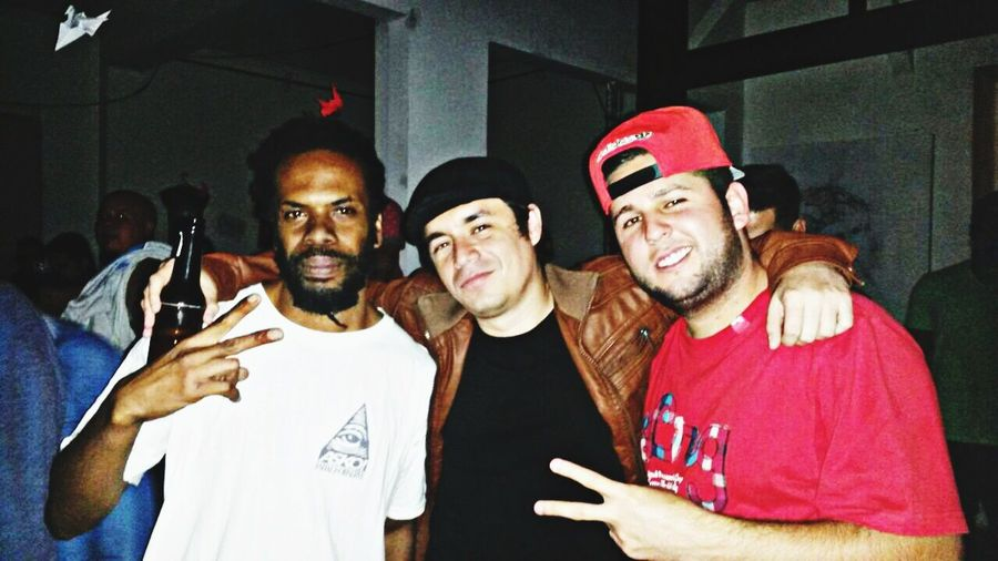 Con Huba y Real G. Rap Tico Hip Hop