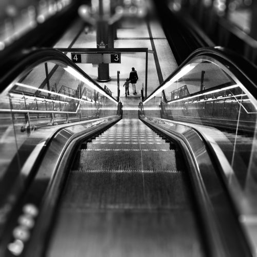 Notes From The Underground The Street Photographer - 2014 EyeEm Awards Soistberlin  Black And White