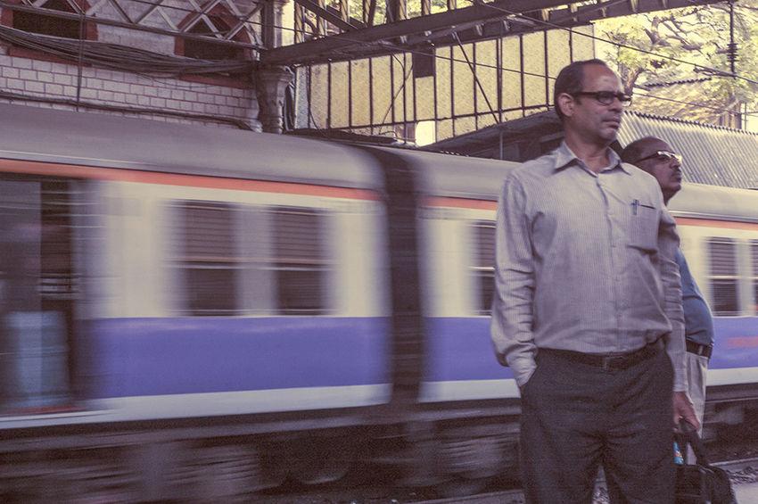 Public Transportation Waiting For The Train People Photography Mumbai