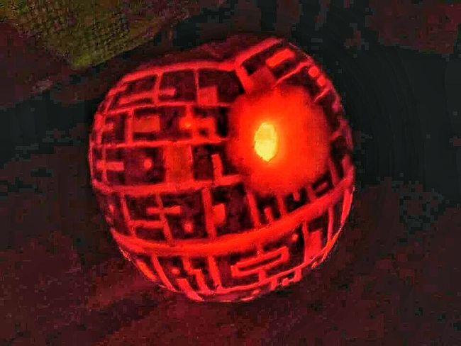 Halloween Pumpkins Glow Pumpkin Carving Pumpkin Death Star