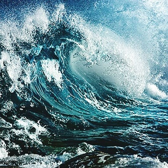 Water Motion Surf Power In Nature Sea Wave Nature Flowing Splashing Outdoors Scenics Beauty In Nature Flowing Water Full Frame Breaking Non-urban Scene
