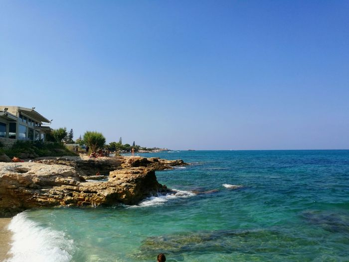 Chersonissos Island Crete Greece Crete Blue Greece Sea