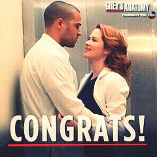 Grey's Anatomy Congrats