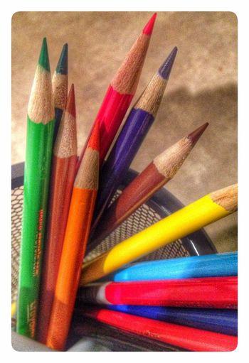 Color pencils Colors Color