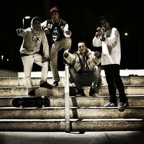 La people Gangs Skatedays Friends EyeEm