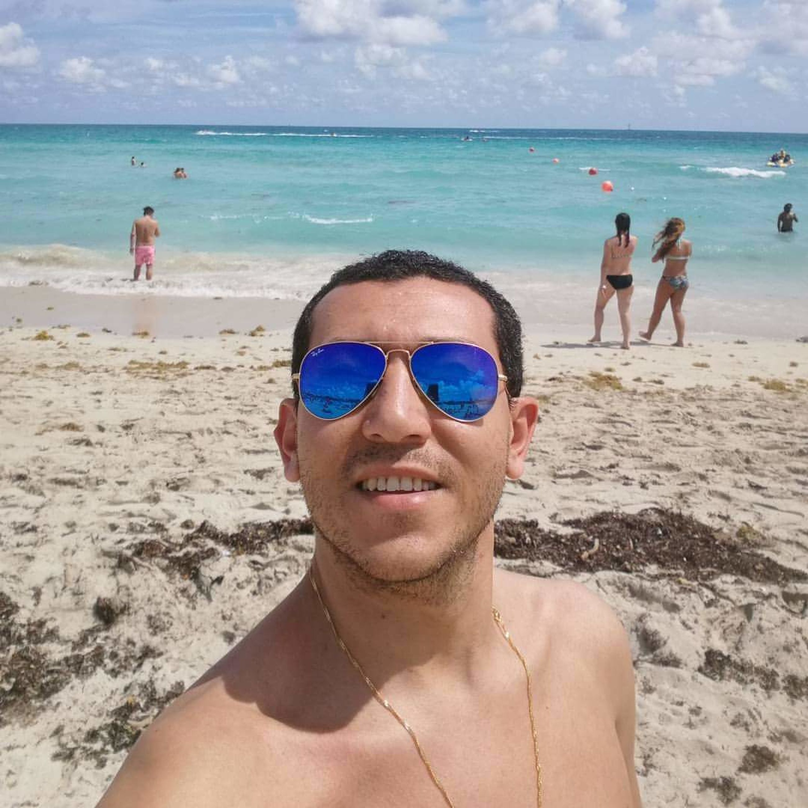 beach, sand, sea, vacations, mature adult, beach holiday, headshot, adult, horizon over water, people, snorkeling, sky, happiness, day, adults only, portrait, outdoors, smiling, nature, close-up