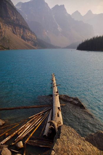 Moraine lake Moraine Lake  Landscape_Collection Alberta Banff National Park  Canada Natgeo Nature Photography Lakeview Landscape EyeEm Selects Water Beauty In Nature Mountain Scenics - Nature Tranquil Scene Tranquility Lake Nature Mountain Range Outdoors Land