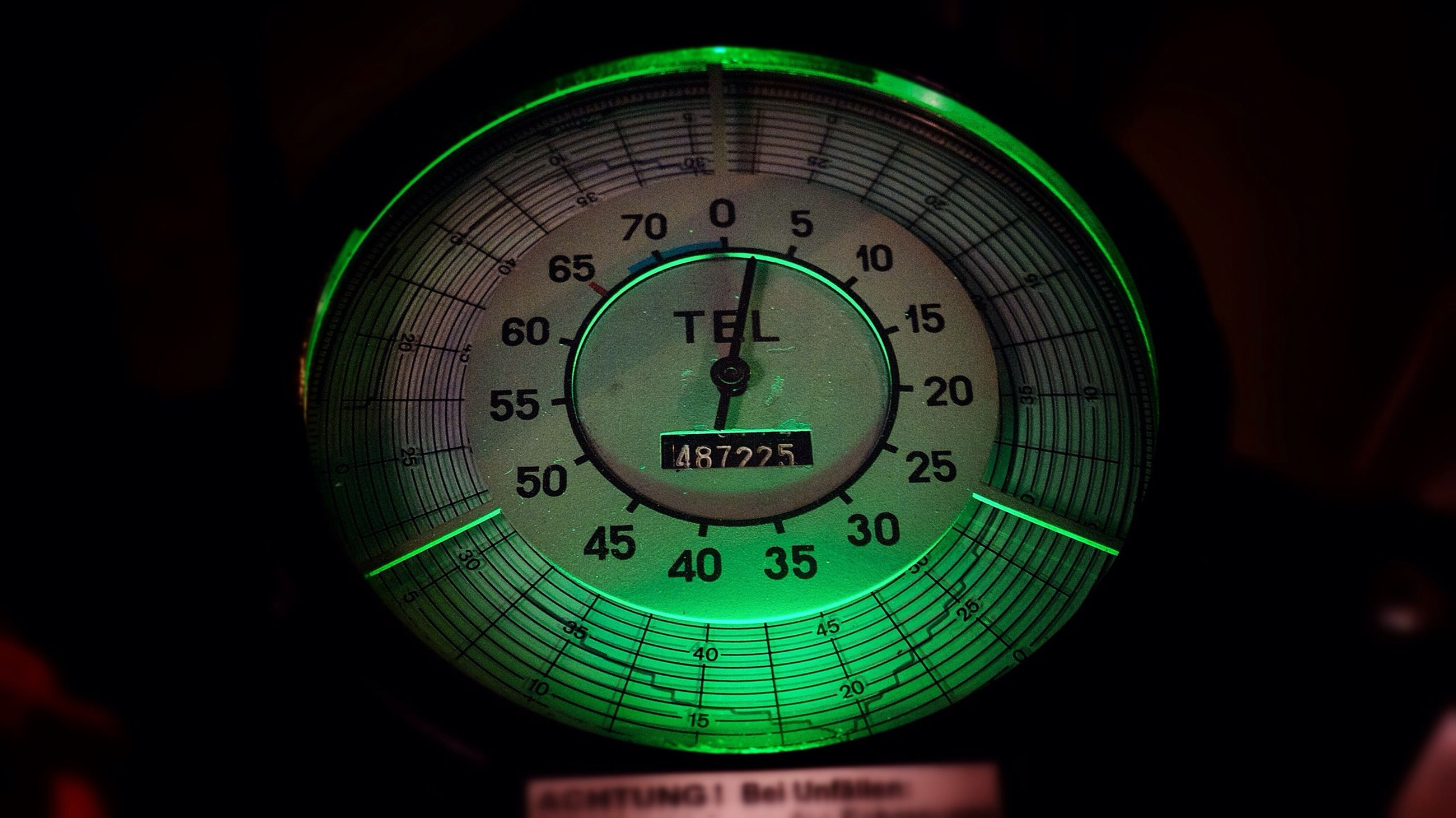 text, communication, clock, number, time, indoors, western script, close-up, technology, accuracy, old-fashioned, circle, illuminated, clock face, wall clock, instrument of measurement, minute hand, no people, metal, low angle view