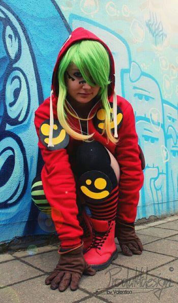 Cosplay Vocaloid Gumi Megpoid Matryoshka Having Fun Enjoying Life That's Me Street Fashion