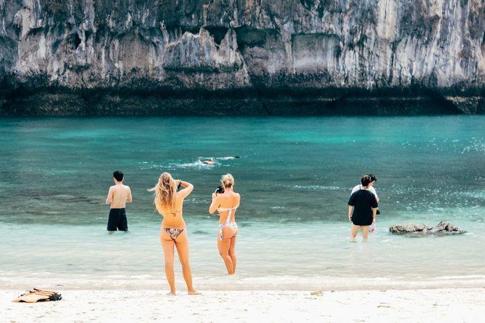 Ektar100 Krabi Krabi Thailand Beach Summer Kodakektar100