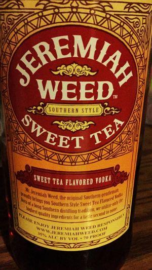 Vodka🍹 Jeremiah Weed