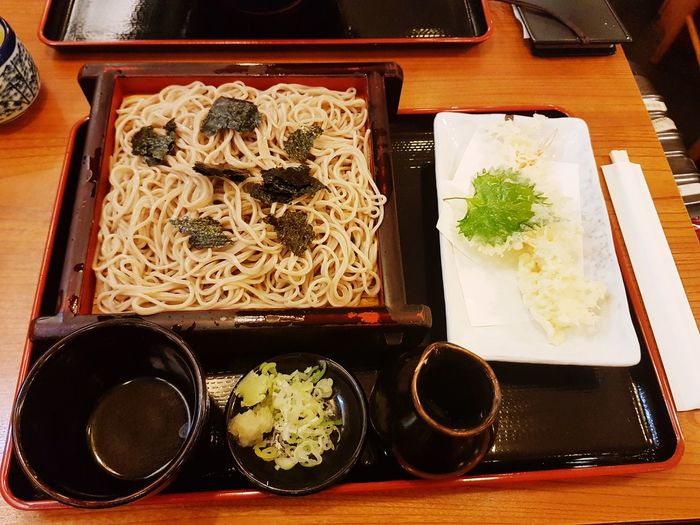 Don't forget trying Japan food awesome. Serving Tray Plate Table Japanese Food Close-up Food And Drink