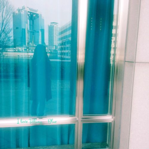Tiffany Blueの前で(*˘︶˘*).。.:* Skyscraper Day Backgrounds Cityscape Urban Skyline Architecture No People Outdoors Close-up
