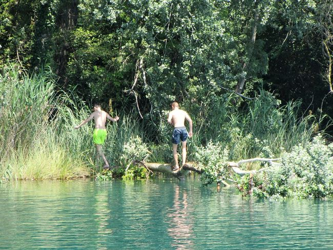 L'Estany #milcentdeuphotografy Tree Water Boys Men Childhood Togetherness Shirtless Fun Spraying Standing Fishing Equipment Ankle Deep In Water Sprinkler Commercial Fishing Net Fisherman Rope Swing Fishing Net Swimming Trunks Fishing Industry Trawler Irrigation Equipment Catch Of Fish Myanmar Culture Buoy Fishing Boat Netting Fishing Tackle Fishing Rod