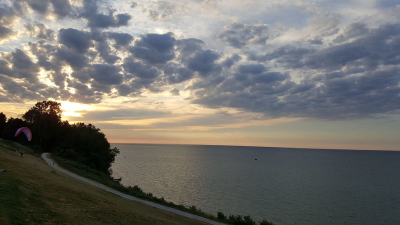 Clouds Summer Night Sunset By  The Lake Erie Edgewater Lake Erie Photography Outside Photography Outside Nature Pretty Outdoors Natural Beauty Stop Look And Listen Water Jrosemarieb