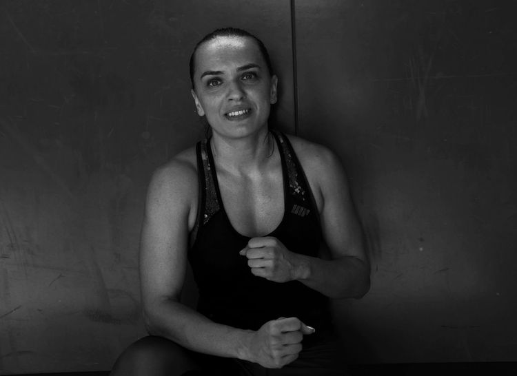 on my series Women Smiling Athlete