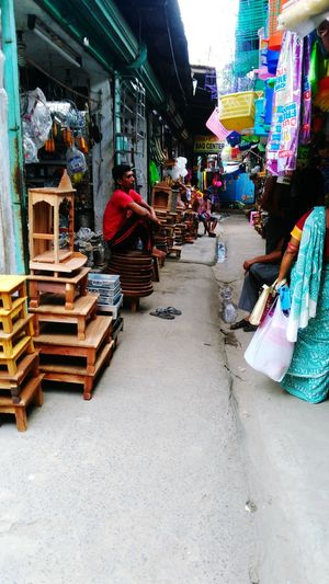 At A Market Place,Kalibari, Shyamnagar