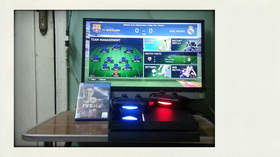 My home ....play station 4