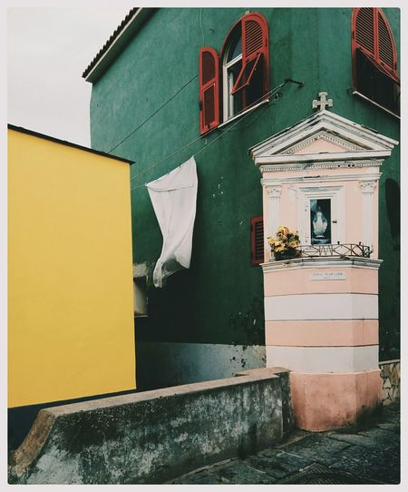 Architecture Outdoors No People Yellow Tranquility EyeEm Selects First Eyeem Photo Summer Day Colorful Colorsplash Colour Of Life Traveling Built Structure Building Exterior EyeEmNewHere Your Ticket To Europe