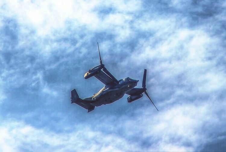 Things In The Sky Helicopter Helicopters V22 Osprey Hdr_Collection Canon 600D