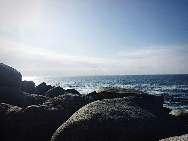 Pensando 💭 la grandeza del 🌊... Sea Water Nature Horizon Over Water Beauty In Nature Tranquil Scene Beach