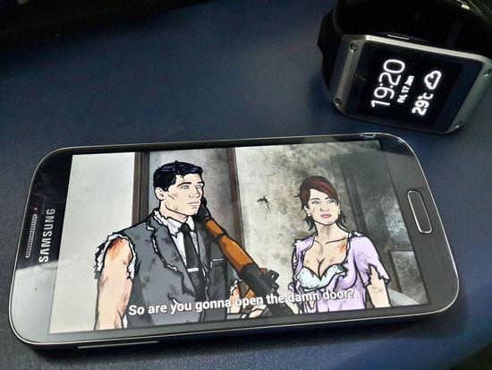 Love my Galaxys4 & Galaxygear gadget. :)