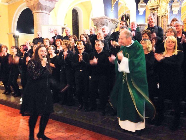 Sligo Cathedral Gospel Choir Mass Singing