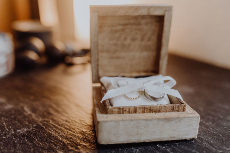 Wedding rings in a wooden box Box Engagement Wedding Wedding Photography Wood Ceremony Jewelry Ring Rings Wedding Day Wedding Ring Wedding Rings Woodbox