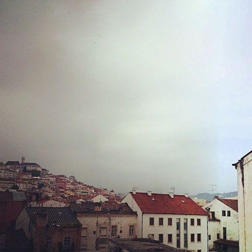 Provavelmente o plano mais antigo que tenho da Universidade de Coimbra, da janela do laboratório do meu pai ;)