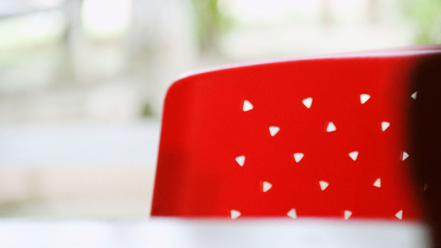 Red chair Chair