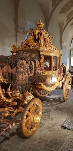 Carrosse de Charles X No Filter, No Edit, Just Photography History Carrosse Charles X Versailles Ornate No People Gold Indoors  Travel Destinations Gold Colored