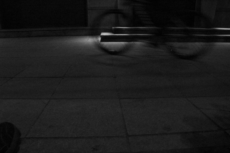 Black And White Bycicle Capture The Moment Evening Ghost Town Motion Ride Rustavelitheatre Street Street Photography Tbilisi Loves You Tbilisiphoto