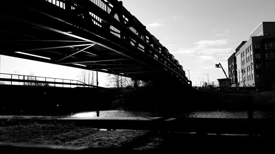 Like a bridge Tadaarefuge Tadaa Community Wather Longwalks Mom Sunny Day Brigde Industrial