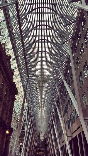 Inside Cool Ceilings  Tdbank Toronto Old Meets New Grafiqlyfe N2bstudios