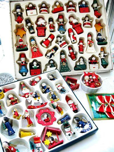 Preparing Christmas!!! Unykaphoto Old-fashioned Vintage Christmas Decorations Christmas Ornaments Christmas Decorations Vintage Christmas Christmastime Christmas Wooden